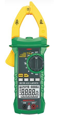 Digital AC / DC Clamp Meter with USB MS2125B