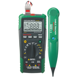 Digital Multimeter With Lan/Phone/Tone Tester MS8236