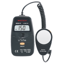 Digital light meter MS6610