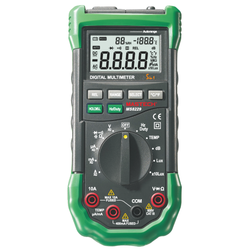 Digital Multimeter With Environment 5 in 1 MS8229 - 1