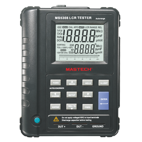 Digital LCR meter with USB interface MS5308 - 1