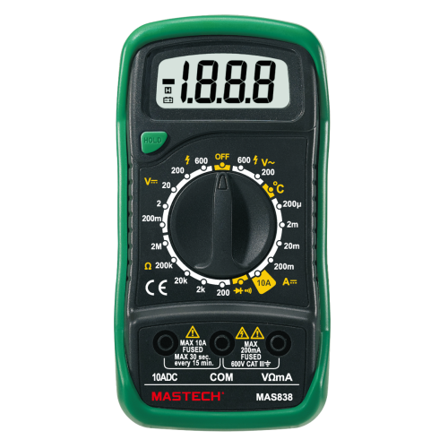 Digital Multimeter MAS838 - 1