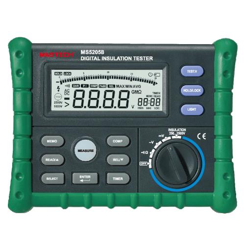Тестер на изолационно съпротивление MS5205B - 1