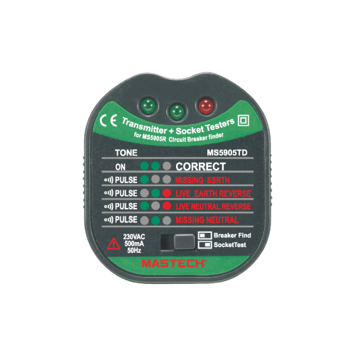 Circuit Breaker Finder With NCV MS5905RTD - 2