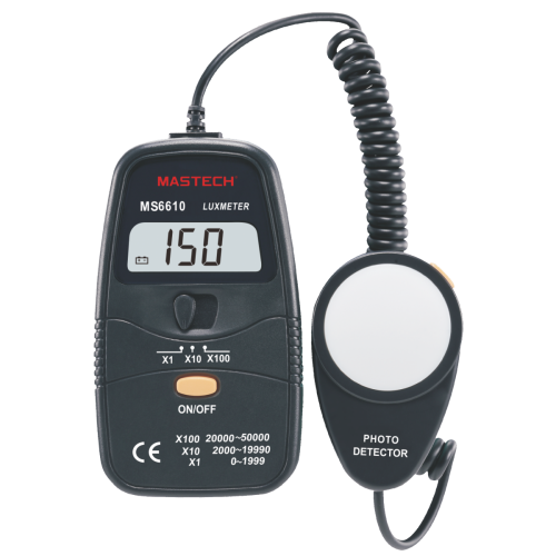 Digital light meter MS6610 - 1