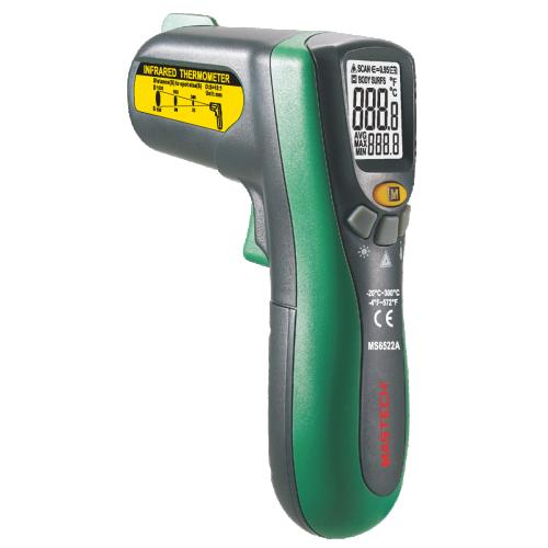 Инфрачервен термометър MS6522A - 1