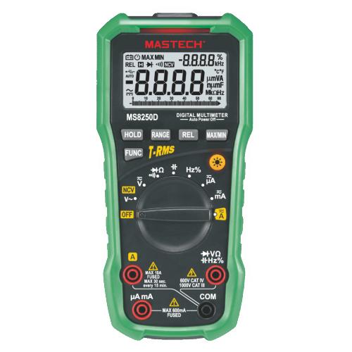 Digital Multimeter with USB MS8250D - 1