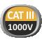 CAT III 1000V